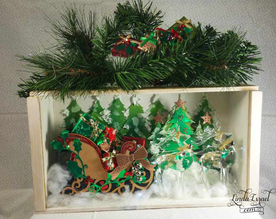 Handmade Christmas Display