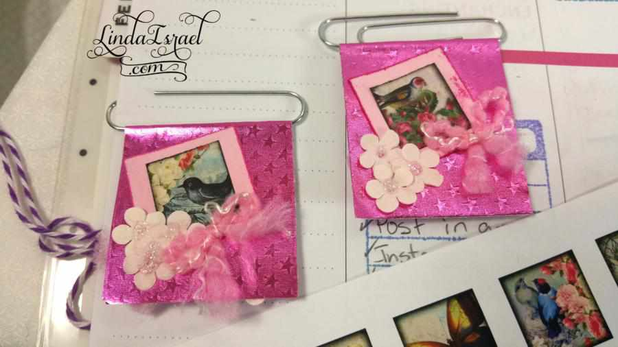 How to make A Simply Spring Embellished Paperclip