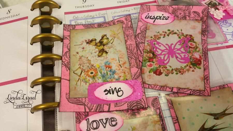 How to make Simply Spring Happy Planner Journal Spots