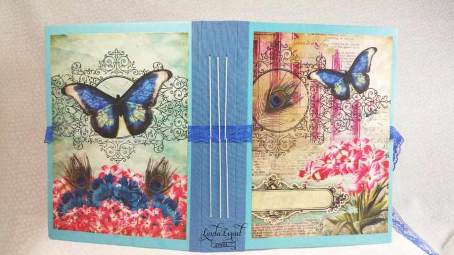 How to make a Spring Peacock Junk Journal