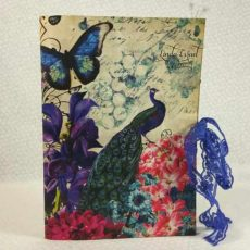 7gypsies & Calico Collage Spring Peacock Junk Journal