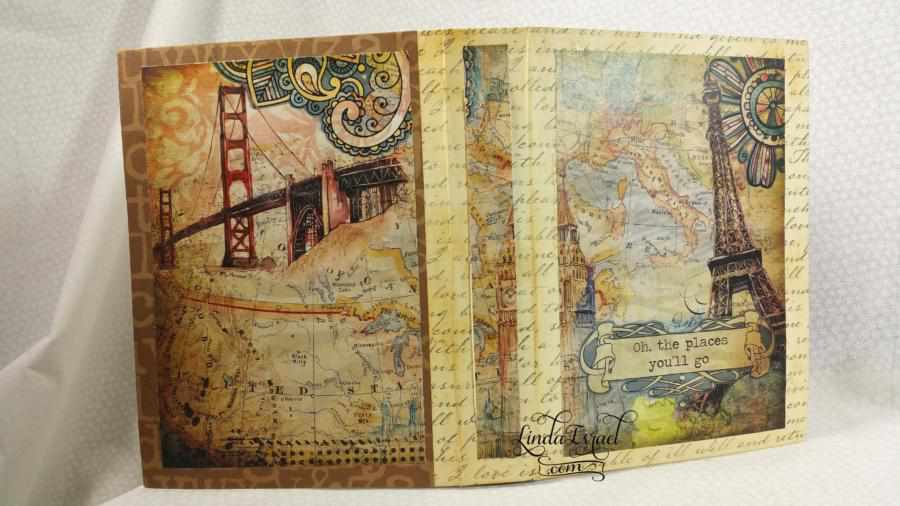 Travelin Through Handmade Junk Journal