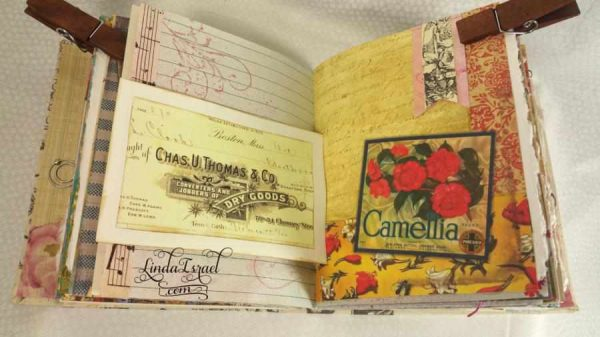 How to make a Canvas Covered Junk Journal