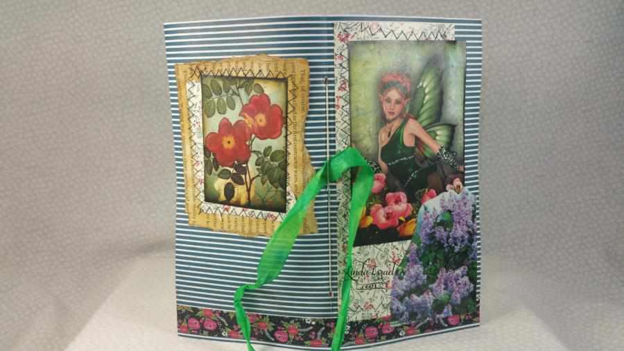 Fairy Forest Travelers Notebook Junk Journal