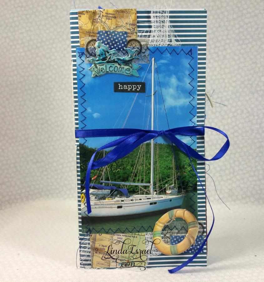 Nautical Travelers Notebook Junk Journal