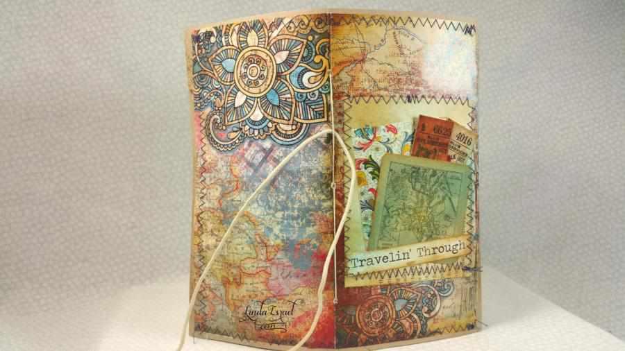 Travelin Through Travelers Notebook Junk Journal