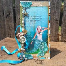 Enchanted Mermaid Junk Journal