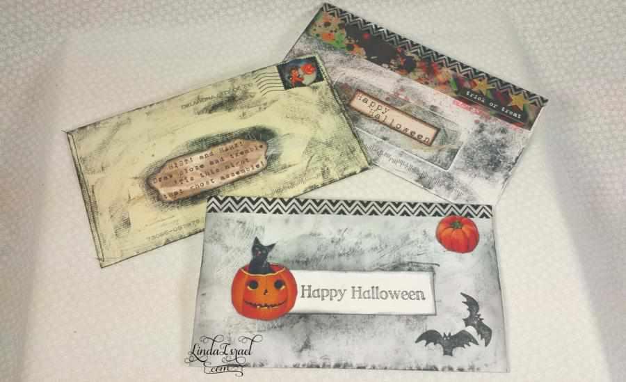 Alter Envelopes Halloween Theme