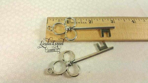 Two large keys