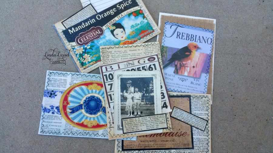 Junk Journal Note Cards