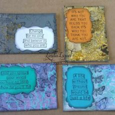 Mixed Media ATC's or Journal Cards