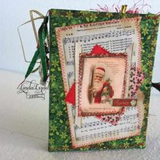 Golden Christmas Junk Journals