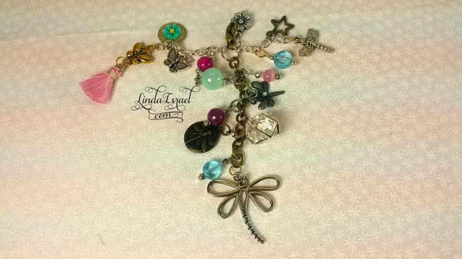 Dragonfly Journal Charm