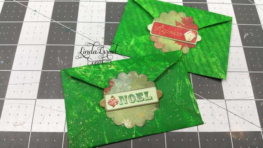 Paint Envelopes for Junk Journals