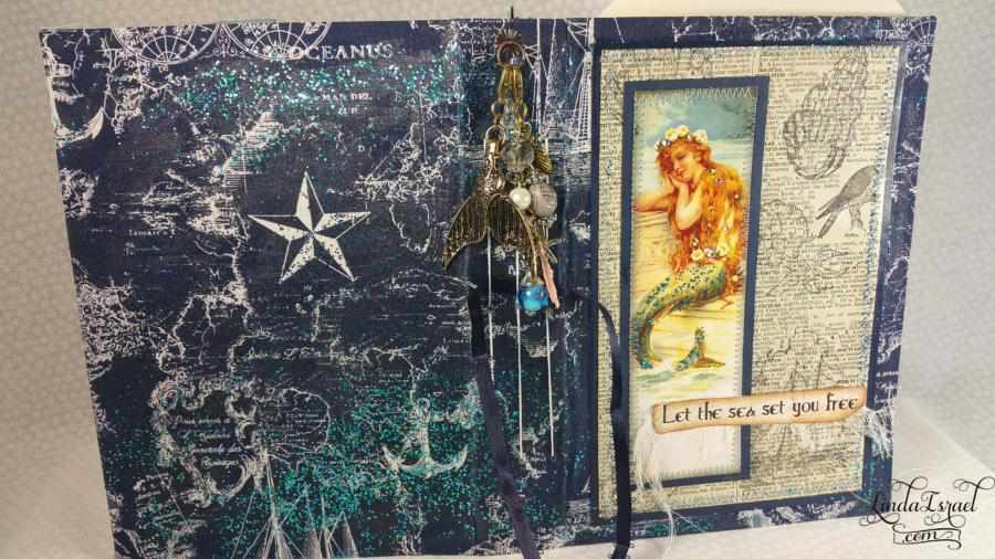 Mermaid Planner Junk Journal