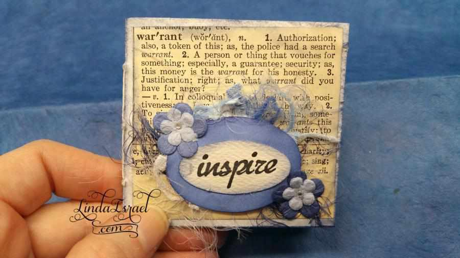Tutorial Mini Inspire Junk Journal