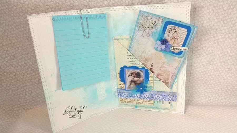 Junk Journal Page Tutorial