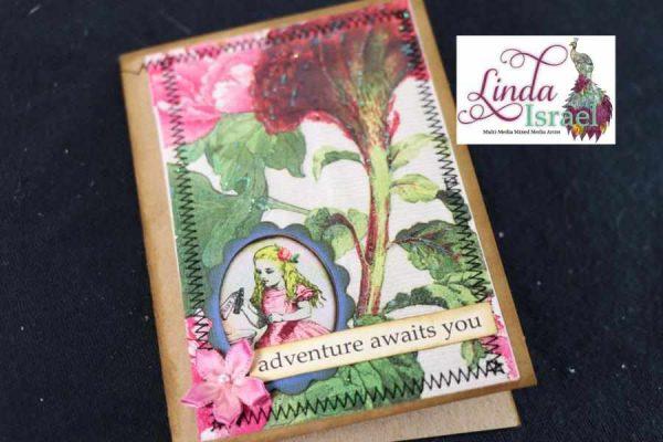 Napkin Journal Card Tutorial