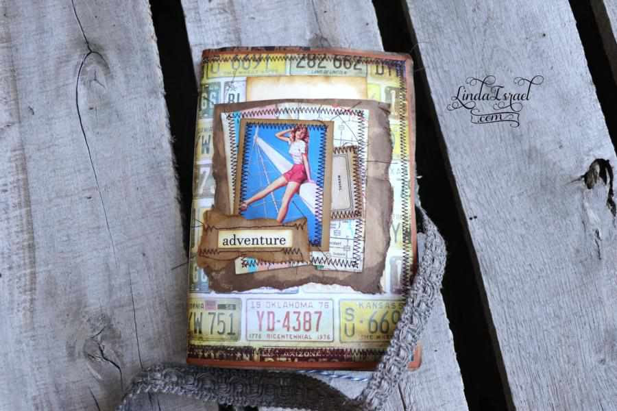 Pin Ups on Rt 66 Junk Journals