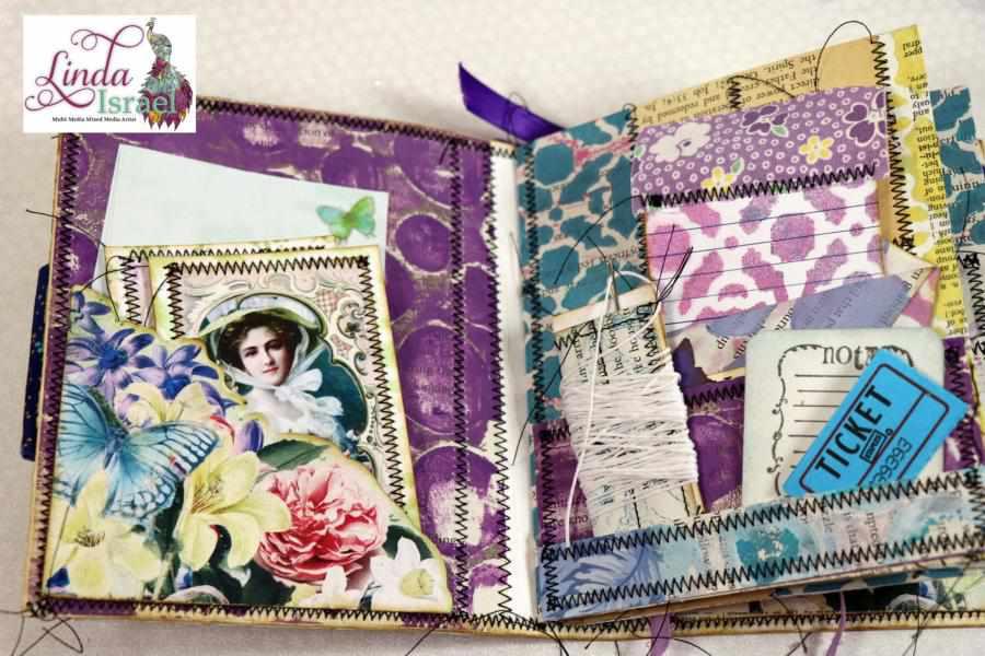 Embellishment Junk Book Tutorial