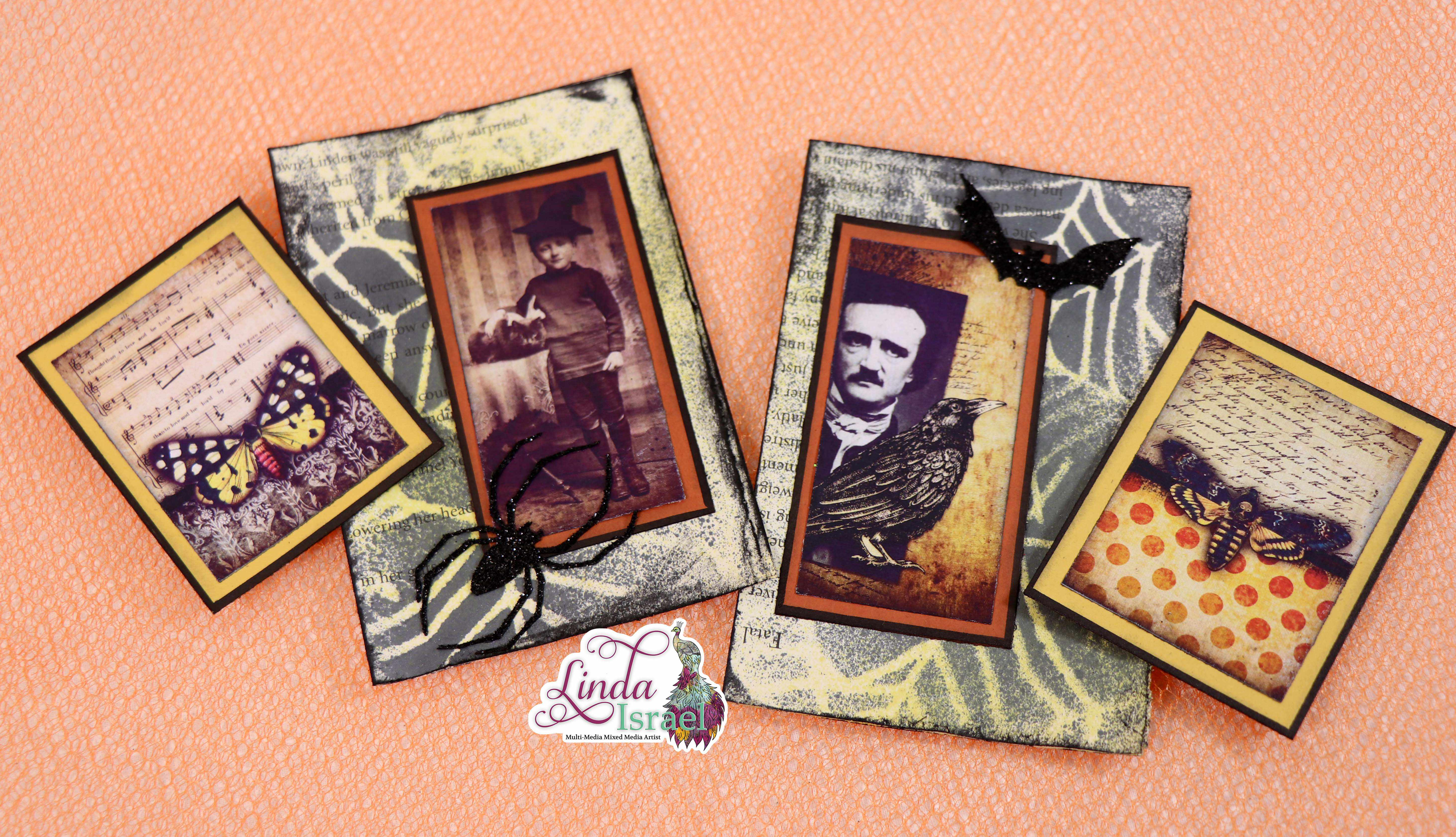 Halloween Altered Paperclip Tutorial