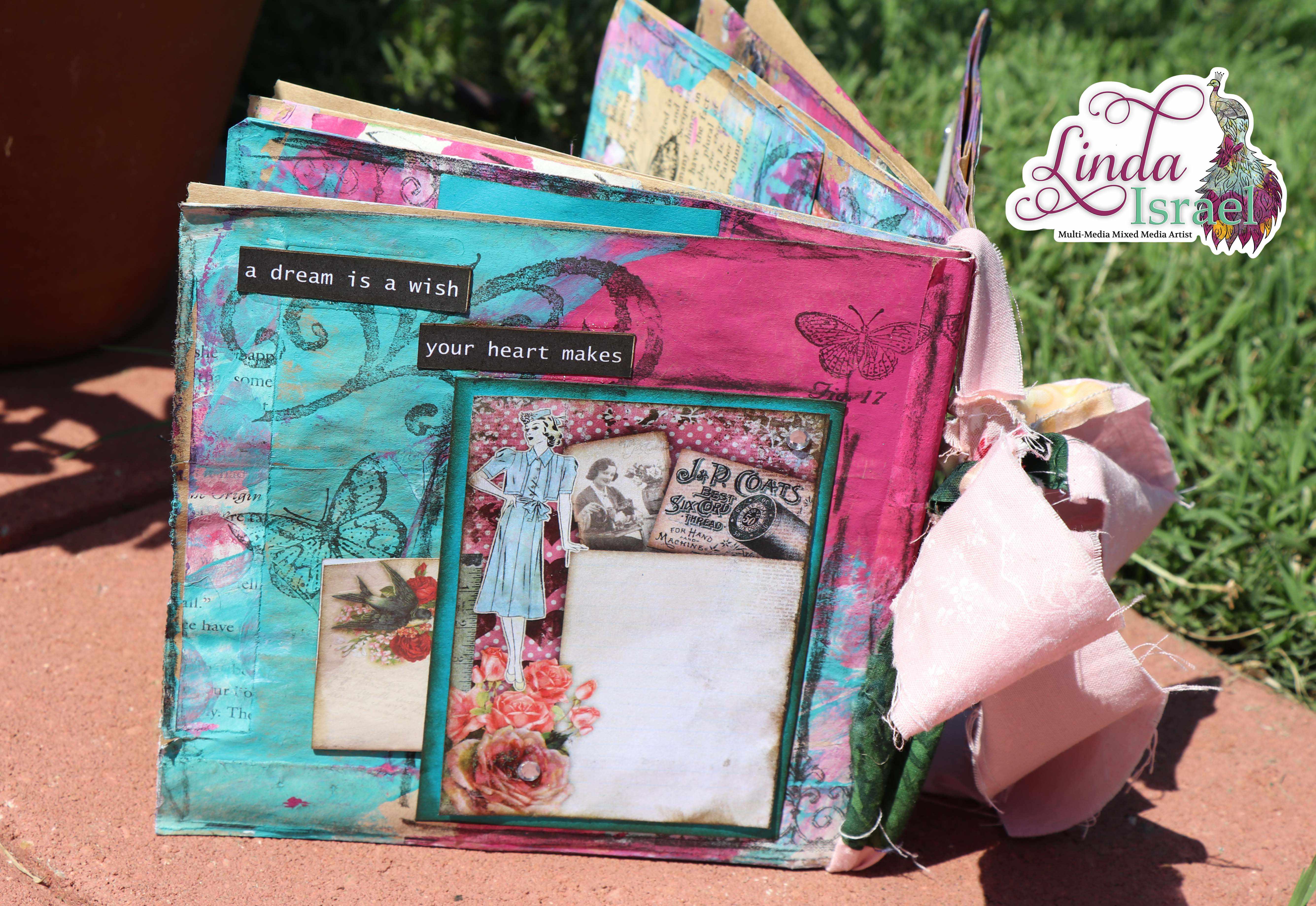 Mixed Media Paper Bag Junk Journal