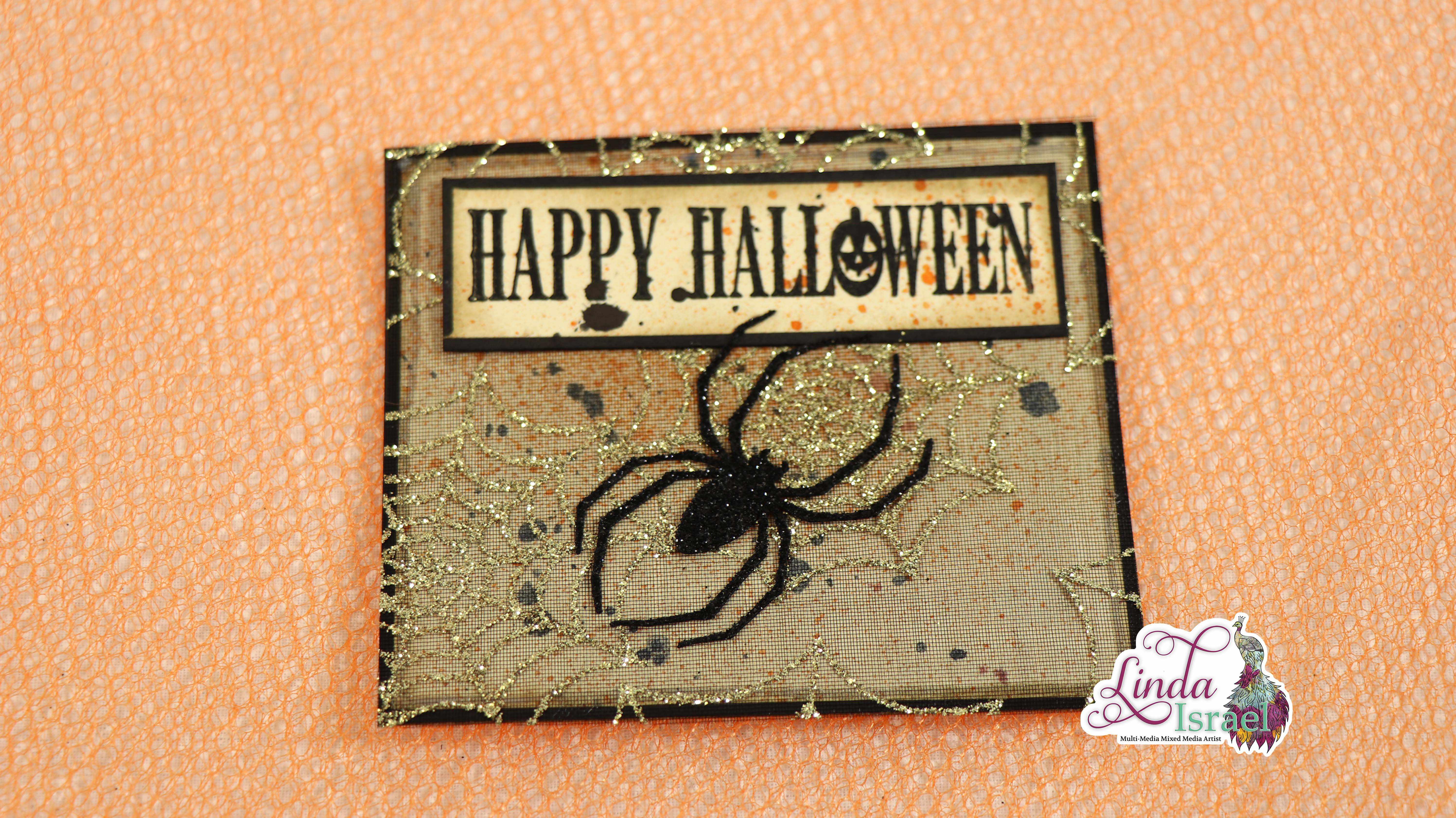 Halloween Journal Card Tutorial