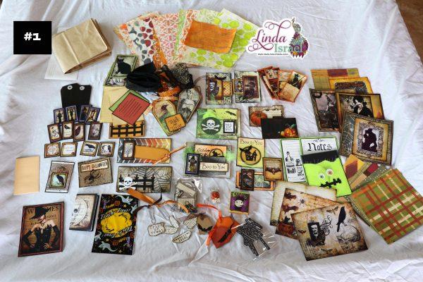 Mixed Media Halloween Paper Bag Junk Journal Tutorial