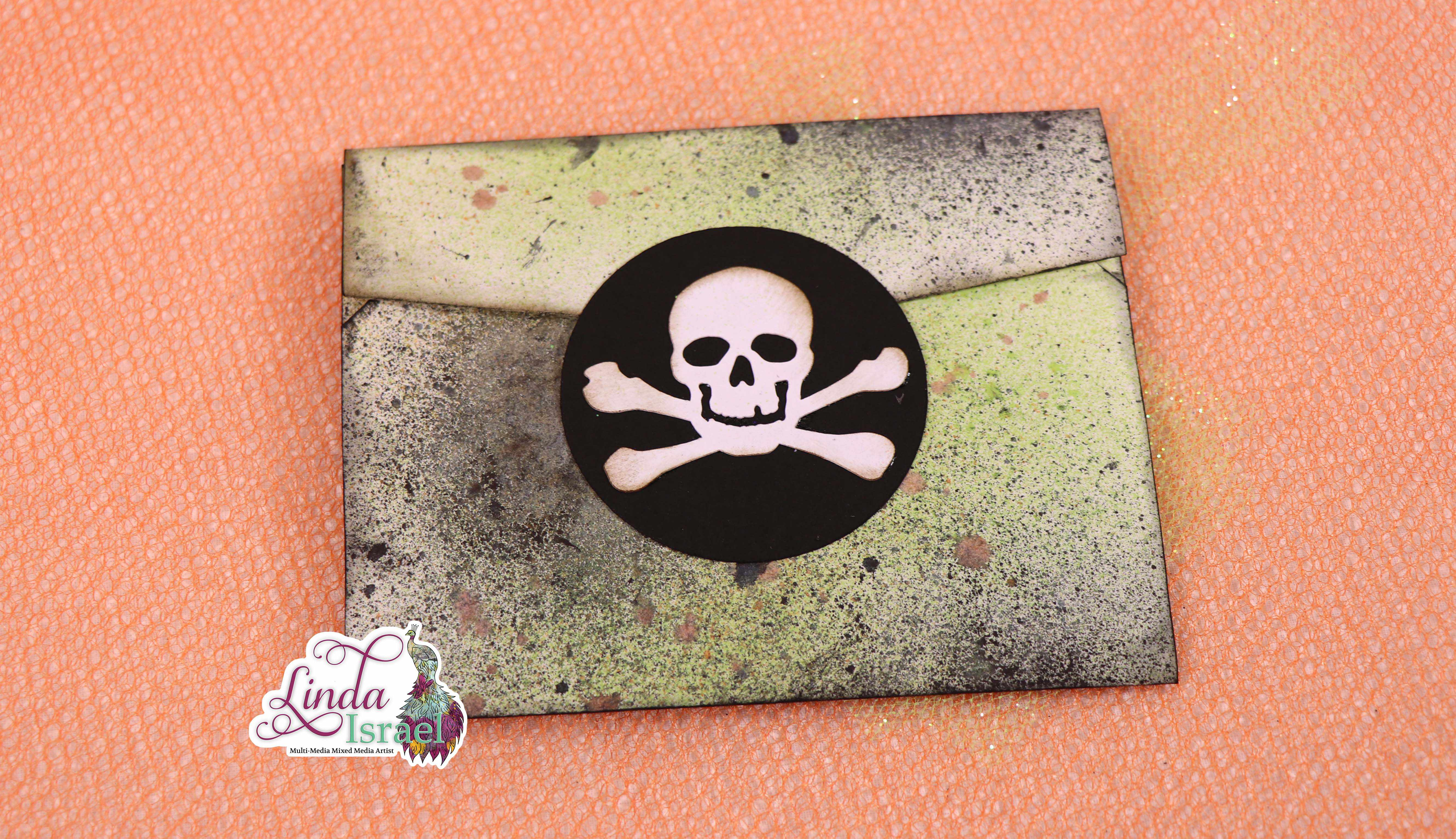 Trick or Treat Halloween Altered Envelope Tutorial