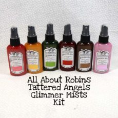 All About Robins Tattered Angels Glimmer Mists Kit