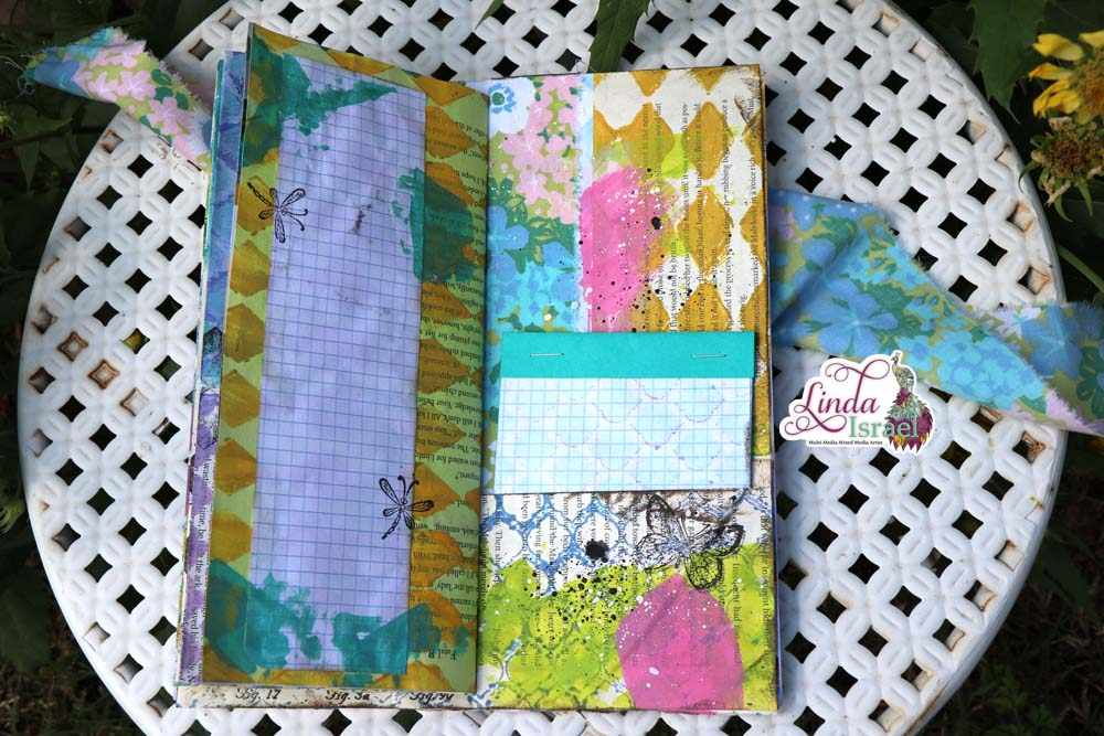 Colorful Mixed Media Junk Journal