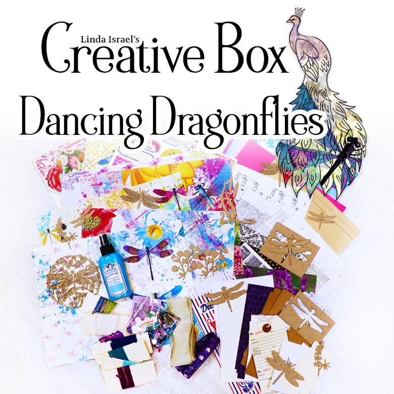Linda Israel's Creative Subscription Box Dancing Dragonflies