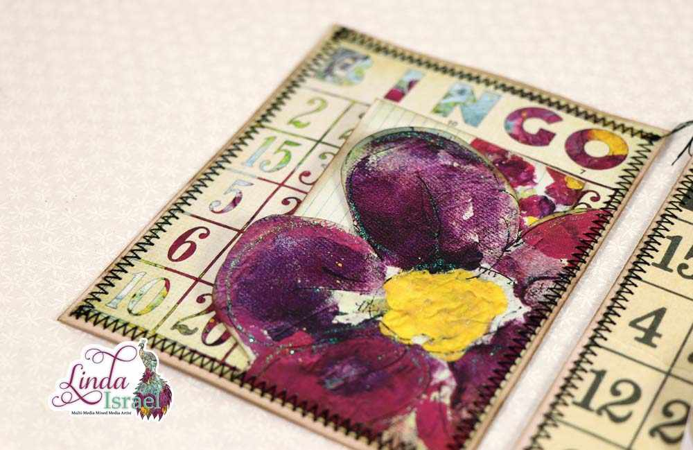 Fussy Cut Bingo Swap Card Tutorial