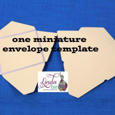 Miniature Envelope Template