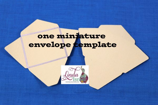 Miniature Envelope Template