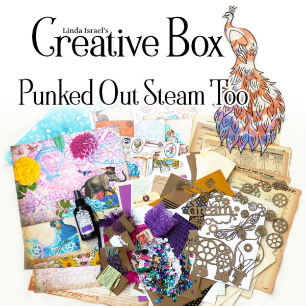 Linda Israel's Creative Subscription Box Punked Out Steam Too