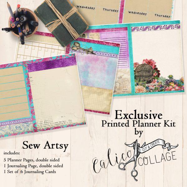 Sew Artsy Printed Planner