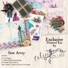 Sew Artsy Printed