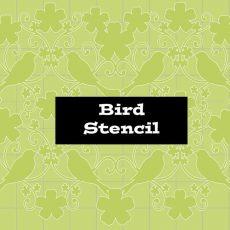 Stencil Bird