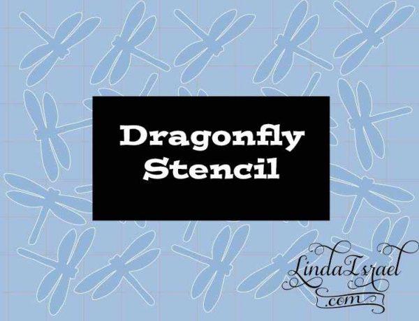 Stencil Dragonfly