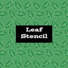 Stencil Leaf