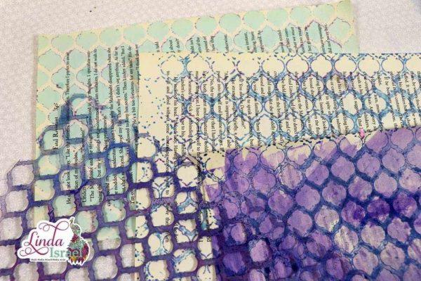 Stencil Moroccan example