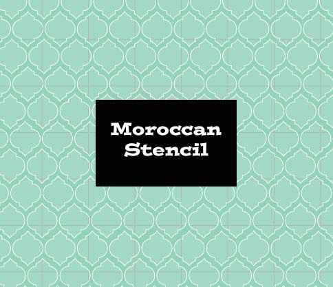 Stencil Moroccan