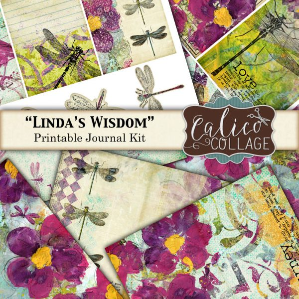 Linda's Wisdom Digital Journal Kit
