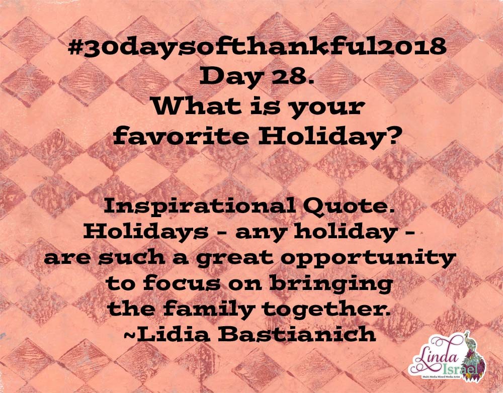 Day 28 Of 30 Days Of Thankful 2018