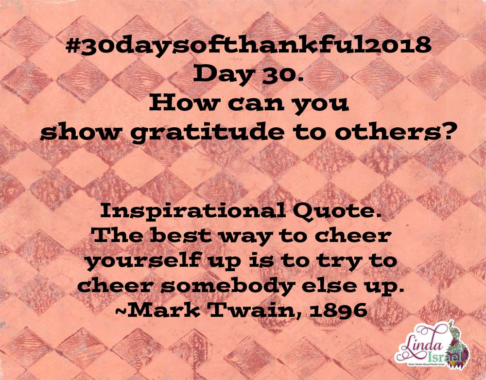 Day 30 Of 30 Days Of Thankful 2018