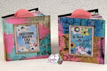 Mini Mixed Media Junk Journal Tutorial