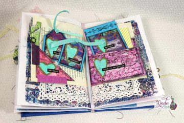 Mixed Media Flowish Junk Journal