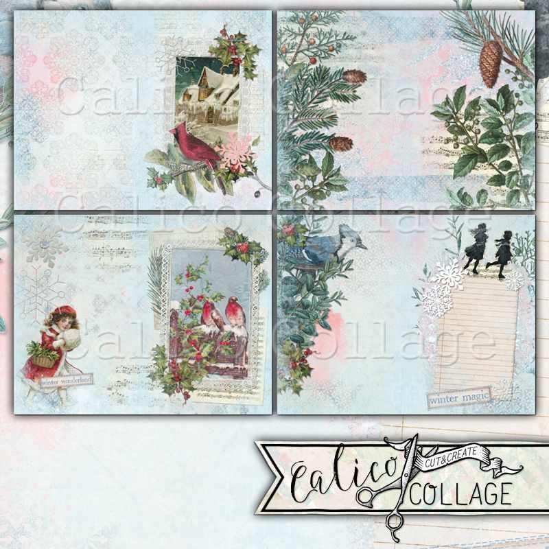 Winter Bliss Digital Kit