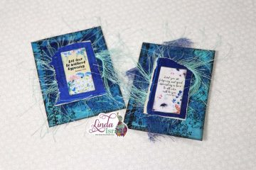 Altered Paperclip Tutorial Using Gel Prints and Stamps